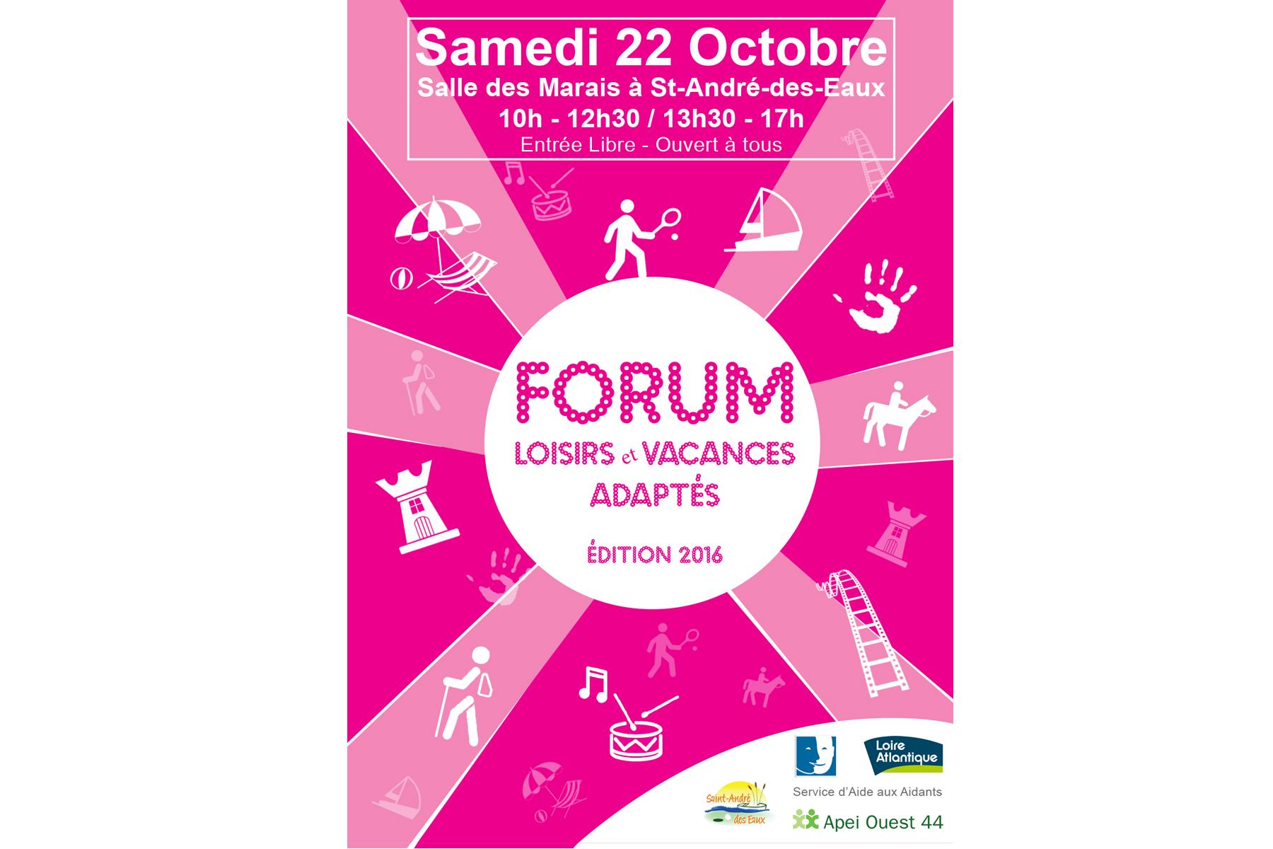 Forum Loisirs et Vacances Adaptés
