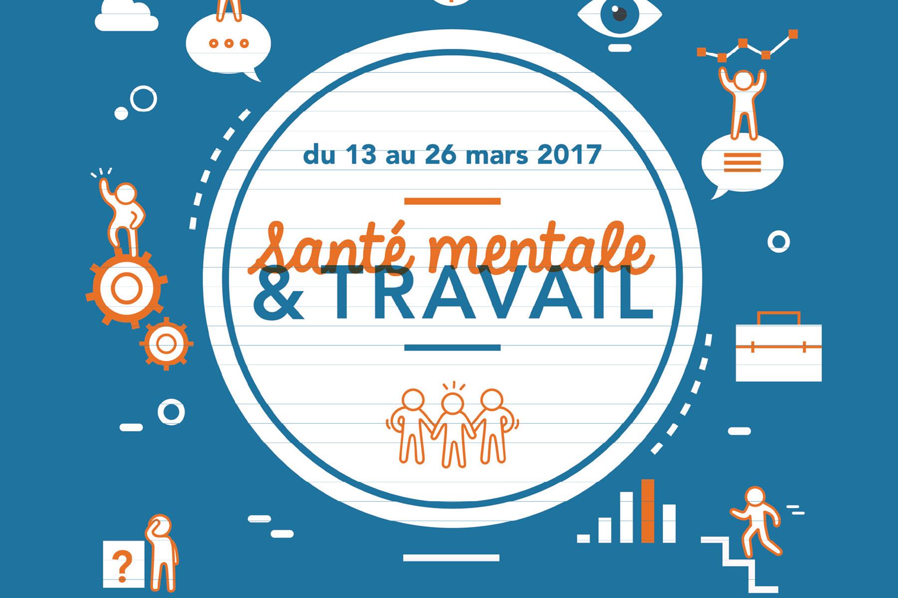 Santé mentale & travail : semaines d'information