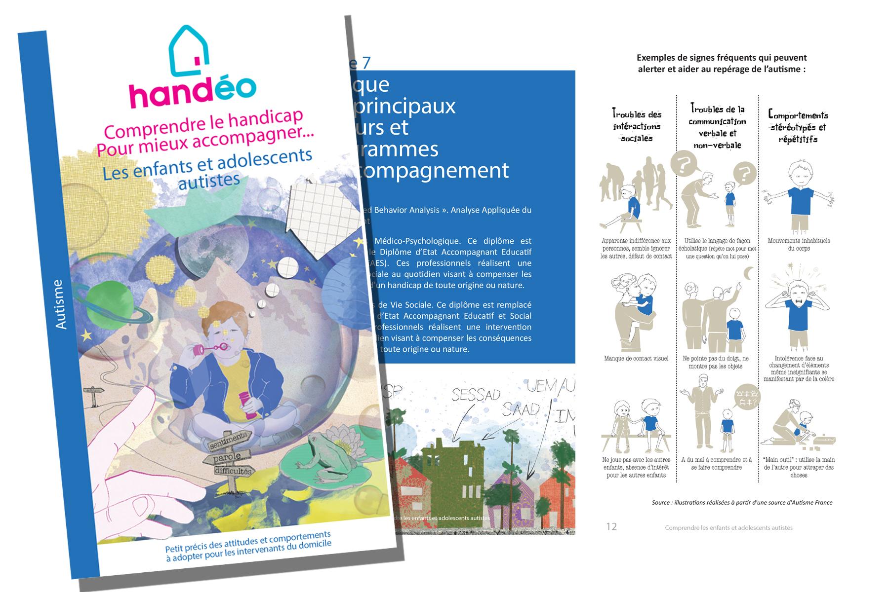 Un guide pour «Comprendre le handicap, pour mieux accompagner les enfants et adolescents autistes»