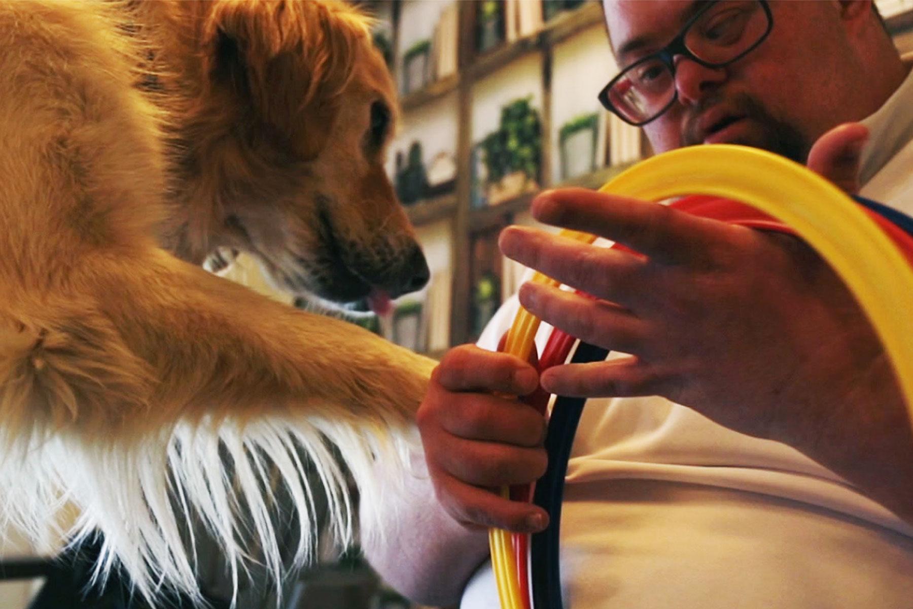 La Fondation Adrienne et Pierre Sommer soutient la médiation animale au foyer Kergestin