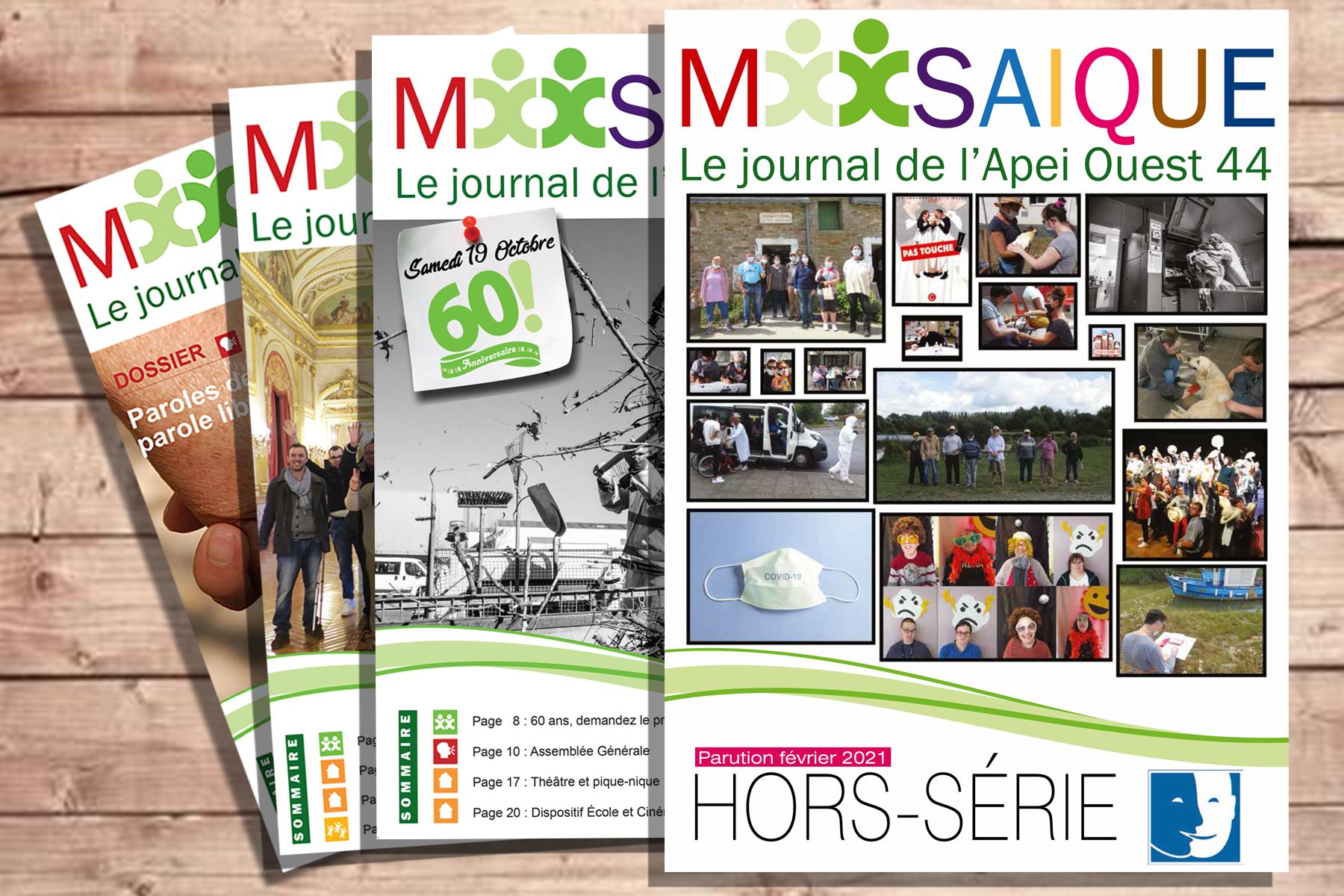 Mosaïque Hors-série : retour sur 2020