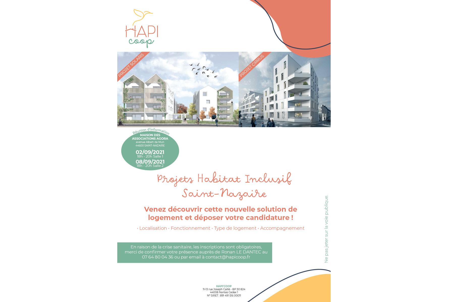 HAPI'COOP : découvrez l'Habitat Inclusif sur Saint-Nazaire !