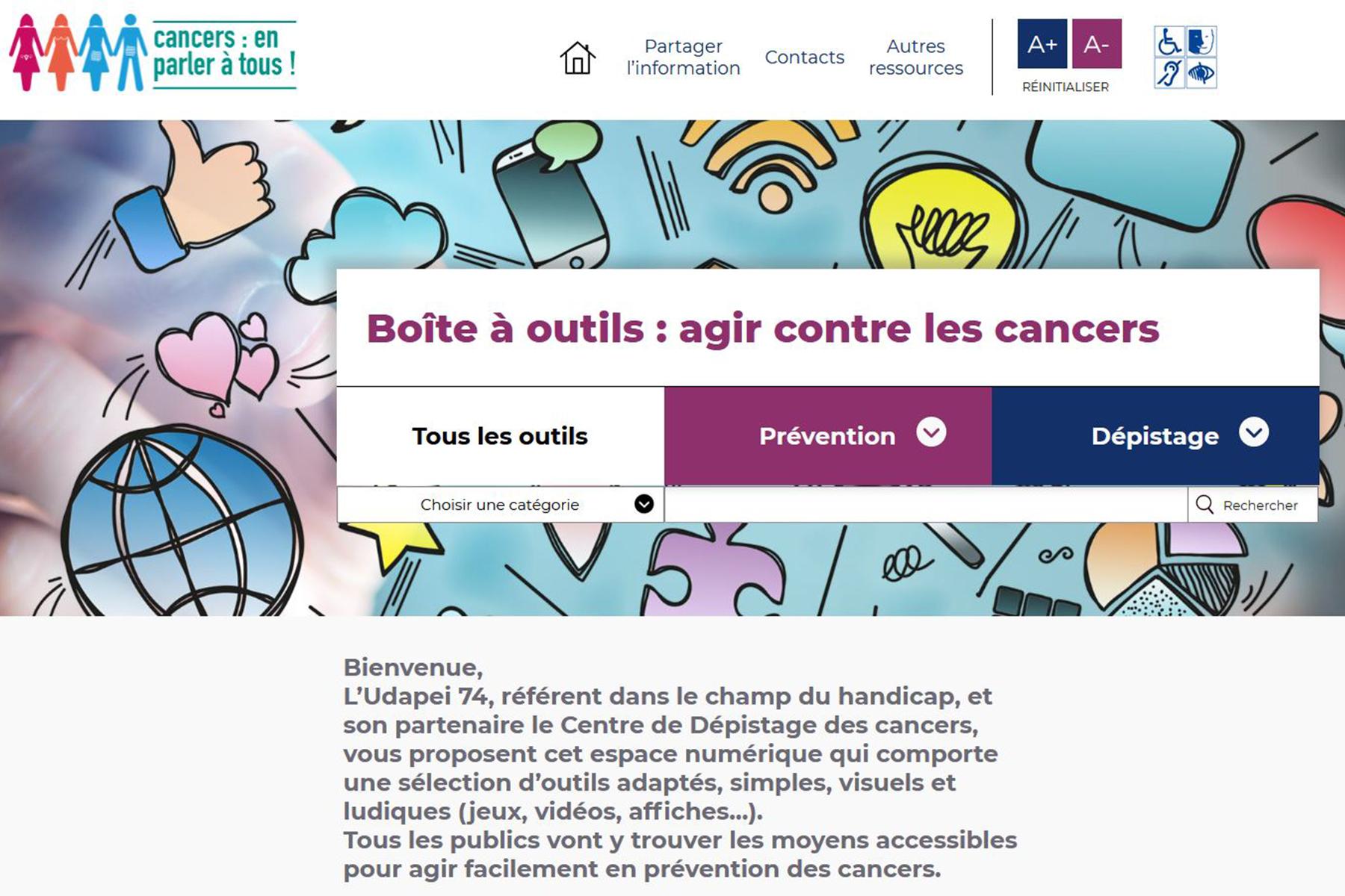 Une boite à outils numériques sur la #prévention des cancers